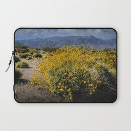 Wild Desert Flowers Blooming in the Anza-Borrego Desert State Park, Southern California Laptop Sleeve