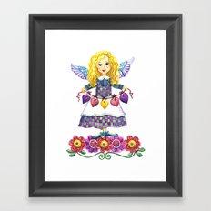Angel Love Framed Art Print