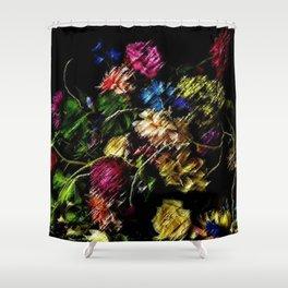 Gorgeous Still Life Flowers in Vase Portrait by Jeanpaul Ferro Shower Curtain