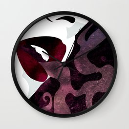 Velvet Noir Wall Clock