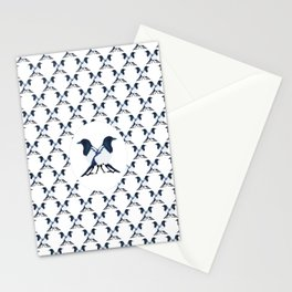 Baroque Magpie Stationery Cards