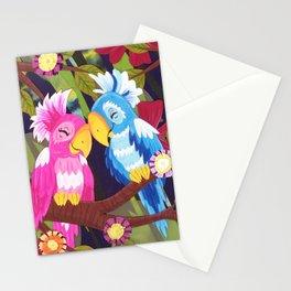 Love Birds Stationery Cards