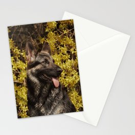 Shepherds love the spring Stationery Cards