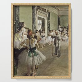 Edgar Degas - The Ballet Class Serving Tray