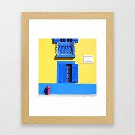 Cais dos Botirões Framed Art Print