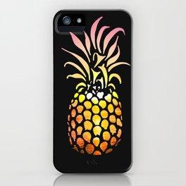 Ocean pineapple Sunset iPhone Case