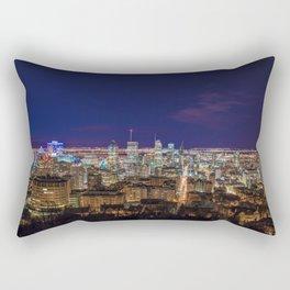 Montreal Nightlights Rectangular Pillow
