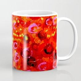 Aboriginal Art - Finger Painting Coffee Mug