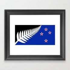 Proposed new Flag design for New Zealand Framed Art Print
