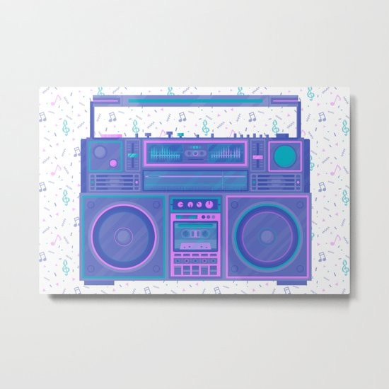 Party Essential Metal Print