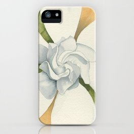 Graceful Symmetry–Watercolor iPhone Case