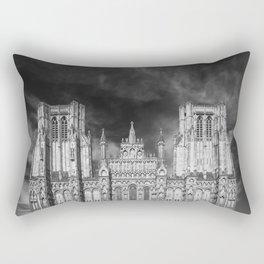 Wells Cathedral Rectangular Pillow