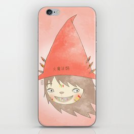 PAULLY POTTER - LICENSED WIZARD iPhone Skin