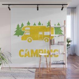 Camping Hiking Outdoor Wall Mural