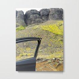 Spectacular Roadside Views on the Snæfellsnes Peninsula in West Iceland (1) Metal Print