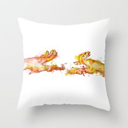 Right or Wrong? Throw Pillow