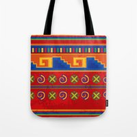 mexico Tote Bags featuring Mexico by rusanovska
