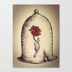 The Rose and the Bell Canvas Print