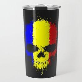 Romanian skull Travel Mug