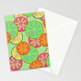 Unique orange fruit Stationery Cards