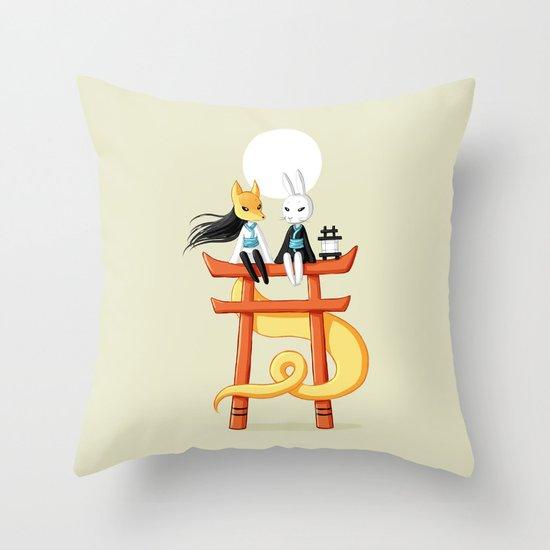 Torii 3 Throw Pillow