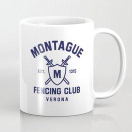 Montague Fencing Club - Romeo & Juliet Coffee Mug