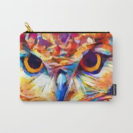 Owl Watercolor 2 Carry-All Pouch