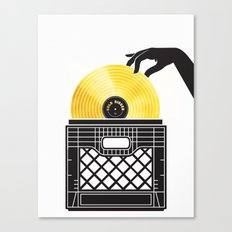Gold Digger Canvas Print