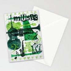 Music Jam Stationery Cards
