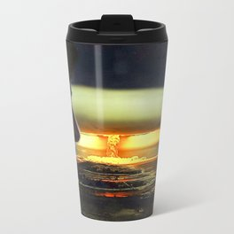 Atomic Bomb Girl Metal Travel Mug