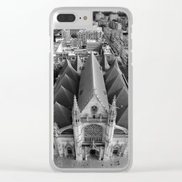 DKChurch Clear iPhone Case