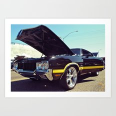 Cutlass cool Art Print