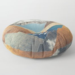 Mountain Pass Floor Pillow
