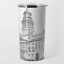 Wayne County Court House | Detroit Michigan Travel Mug