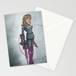 Sniper Wolf Stationery Cards