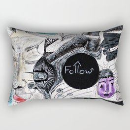 Follow Rectangular Pillow