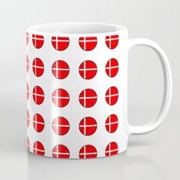 Flag of Denmark 4-danmark,danish,jutland,scandinavian,danmark,copenhagen,kobenhavn,dansk Coffee Mug