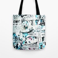 movie posters Tote Bags featuring posters by Renee Ansell