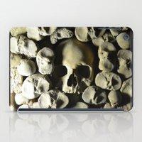 skulls iPad Cases featuring skulls by SINPE