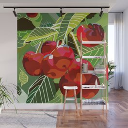 Cherry Tree Wall Mural