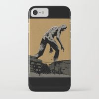iron giant iPhone & iPod Cases featuring Giant by Matthew Dunn