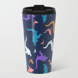 godzilla pattern 02 Travel Mug