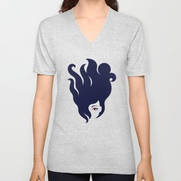 The Octopus Haircut Unisex V-Neck