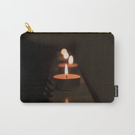 Candles on the piano Carry-All Pouch
