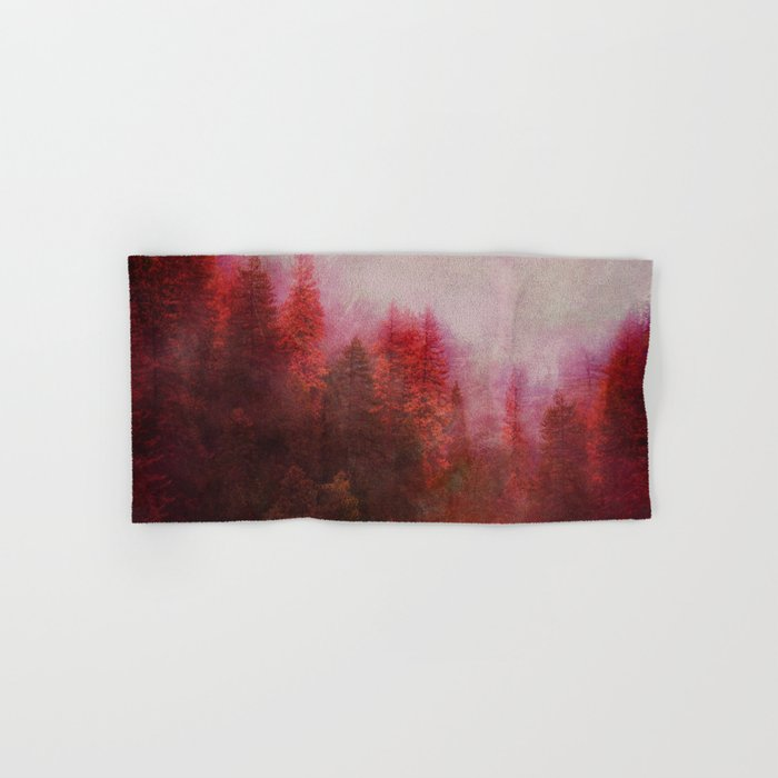 Dreamy Autumn Forest Hand & Bath Towel