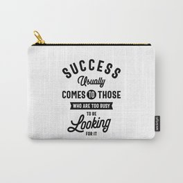 Henry David Thoreau. SUCCESS Carry-All Pouch