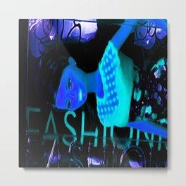 Fashion In The Dark Metal Print