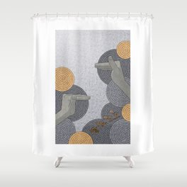 Hope Opens Heaven - (Artifact Series) Shower Curtain
