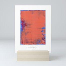 Simon Carter Painting Slash Mini Art Print