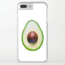 Avocado Clear iPhone Case